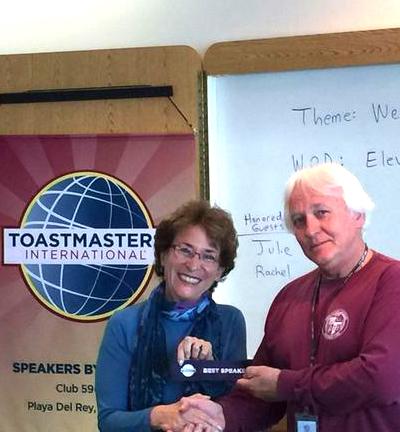 Marsha Wietecha, Toastmaster International