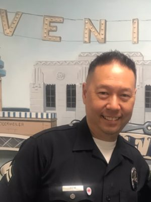 LAPD Officer Ken Lew, Founder/CEO Badge of Heart - Born To Talk